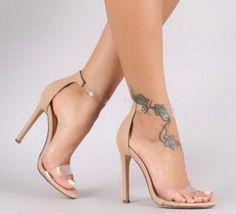 fe0e791d67aa1 TRANSPARENT CRYSTAL SHOES!  shoes  fashion  highheels  Platformhighheels  Fashion Rings