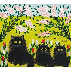 Maud Lewis , Canada's best known Folk Artist, was born in Yarmouth County, and endured many hardships in her early life. Although she suffered from physical handicaps, she made hand drawn Christmas cards and later, small brightly coloured paintings, which she sold to help overcome the poverty.