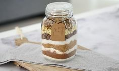 There's nothing quite like a homemade Christmas gift. Our Brownies in a jar make the perfect present for teachers, neighbours and friends. Handwrite the instructions on a little gift tag for the ultimate personal touch.