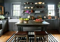 masculine kitchen
