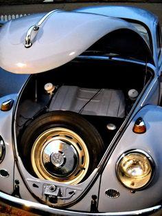Bahama Blue VW Beetle