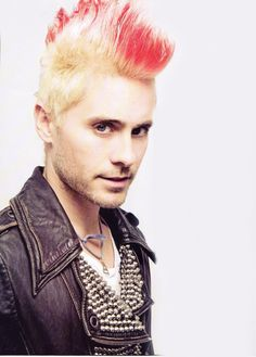 I usually hate Mohawks, but it's jared so don't even care it just works