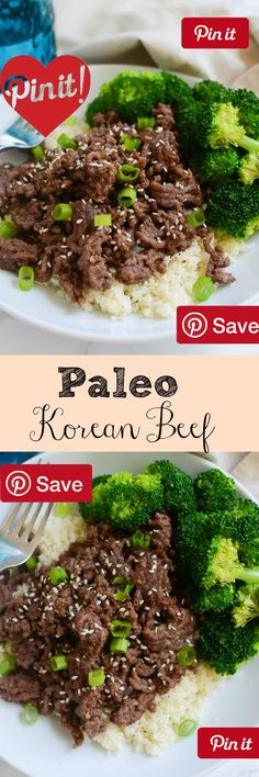 Paleo Beef Bowls The Best Grain-Free Family Meals on the Planet Ingredients Gluten free beefs Meat 1  lbs Ground beef Produce 1 lb Broccoli florets 3 Garlic cloves 1 tbsp Ginger fresh 1 bunch Scallions Condiments 2  tbsp Honey Pasta & Grains 3 cups Cauliflower rice Baking & Spices  tsp Black pepper  tsp Chili paste 1 tbsp Sesame seeds toasted Oils & Vinegars 2 tbsp Cooking oil 2 tbsp Sesame oil Nuts & Seeds 1/3 cup Coconut aminos