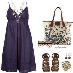 I just love <3 the butterfly bag!!! :) and i like the summer dress & necklace as well.