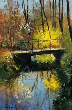 New Painting Oil Landscape Pictures Ideas Watercolor Landscape, Landscape Paintings, Watercolor Paintings, Paintings I Love, Beautiful Paintings, Landscape Pictures, Fine Art, Pictures To Paint, Painting Inspiration