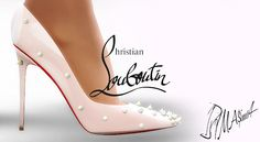 MA$ims 3: Christian Louboutin Degraspike Spiked Stiletto Pumps
