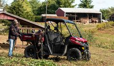 Can't Afford A Tractor? Use Your ATV/UTV To The Max - Hobby Farms