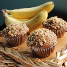 Best Ever Banana Muffins - no lie, they're actually worth leaving bananas to ripen for.