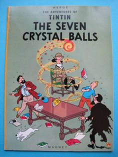 ◆TINTIN◆洋書(英)◆THE SEVEN CRYSTAL BALLS◆USED◆_画像1