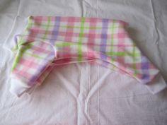 Dog Pajamas  Small  Fleece  Pink  purple by NinasCoutureCloset, $15.00