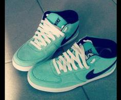I want this color Nike High Tops so bad!!