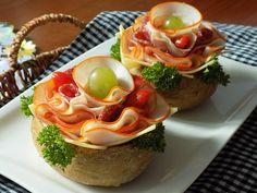 Porcované pohoštění Panna Cotta, Food And Drink, Eggs, Breakfast, Ethnic Recipes, Creative, Morning Coffee, Dulce De Leche, Egg