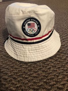 85f72f7a6c3 White Polo Reversible Bucket Hat 2016 Olympic Edition  fashion  clothing   shoes  accessories  mensaccessories  hats (ebay link)