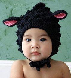 Baa Baa Black Sheep Organic Cotton cap