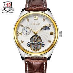 2017 Mens Watches Top Brand Luxury BINKADA Fashion Mechanical Automatic Watch Men Multifunction Display Casual Sport Watch #Affiliate