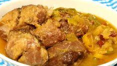 Hasta ahora este es el plato del que más me ha gustado su resultado cocinado en la la CrockPot. Las carrilleras de cerdo, pequeñas y jugosas, son más fáciles de encontrar en el mercado que las de ternera. Es un palto ideal para cocinar a fuego lento que las convierte … Crockpot, Carne, Slow Cooker, Beef, Cooking, Food, Casserole Recipes, Soup Bowls, Crock Pot