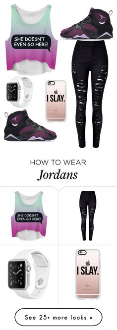 """Untitled #347"" by tryn11 on Polyvore featuring NIKE, WithChic and Casetify"