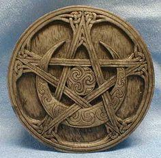Goddess Moon Pentacle - possible tattoo idea