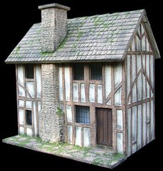 The wonderful work of Bea at Petite Properties...and my next 1/48th scale project