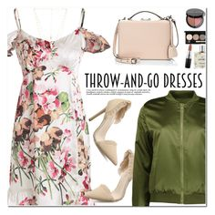 """Throw-and-Go Dresses"" by oshint ❤ liked on Polyvore featuring Mark Cross, Bobbi Brown Cosmetics, MAC Cosmetics, Miller Harris and Natalie B"