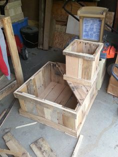 Combo Planting Boxes from upcycled pallets $90.00