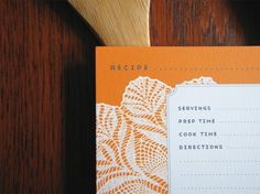 12 Doily 4x6 Recipe Cards Great Gift for ten dollars by Earmark, $ 10.00