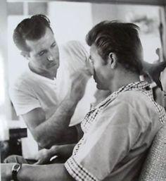 James Dean in make-up