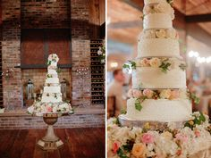 A Peach and Yellow Southern Wedding in Tennessee with a Garden Ceremony Wedding 2015, Spring Wedding, Gold Wedding, Wedding Ideas, 6 Tier Wedding Cakes, Tall Cakes, Marquee Wedding, A Day To Remember, Blush And Gold