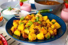 Bombaypotatis- Kryddiga potatisklyftor - ZEINAS KITCHEN