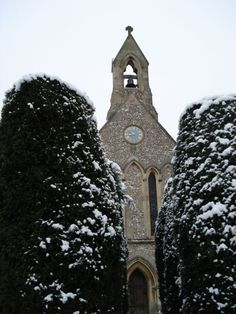 West End of the Church in the snow (2010)