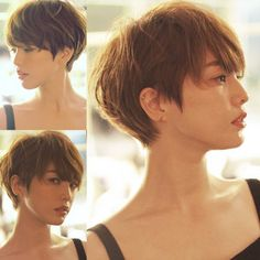 骨格がキレイに見えるショート 木暮博志 Pixie Cut With Long Bangs, Short Hair Cuts, Medium Hair Styles, Short Hair Styles, Hair Arrange, Girl Short Hair, Bad Hair Day, Love Hair, Short Hairstyles For Women