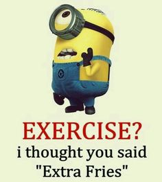 Minions excercise