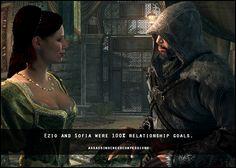 Assassins Creed Confessions Ezio and Sophia
