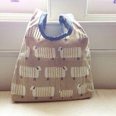 Sheep bag no.2. This is for Megan #stowebag #grainlinestudio #ellenbaker by teenyk1213