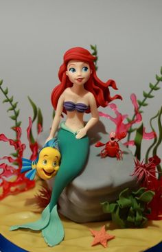Ariel (The Little Mermaid) - Cake by Cesare Corsini