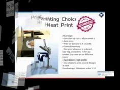 How to satrt your own t-shirt business with heat transfer paper