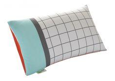 Windowpane Organic Cotton Toddler Pillow Cover