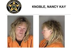 Mugshot of Nancy Kay Knoble ***A terrorist hold Muslim couple at gun point. Hear about this on the news? Me either!