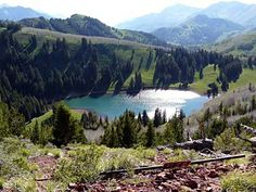 Desolation Lake  -   Big Cottonwood Canyon, Utah USA