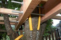 cabanes dans les arbres fixations - Recherche Google