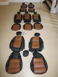 VW  Sharan Autositzbezüge nach Maß gefertigt. Die Sitzbezüge wurden über den Originalbezug der Sitze montiert. Alle Funktionen bleiben nach der Montage weiterhin erhalten. Hier wurde die Lederlook gesamt Variante ausgewählt. Hier eine Gesamtübersicht bei Auslieferung #Sitzbezüge #VW #Sharan #Tuning #Autositze