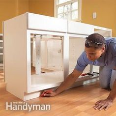 how to install kitchen cabinets pinterest tutorials kitchens rh pinterest com kitchen cabinets installation video kitchen cabinets installation prices