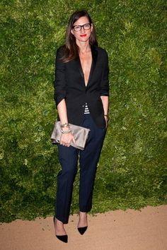 ジェナ・ライオンズ(J.CREW CEO) 私服 ファッション画像集(Jenna Lyons)