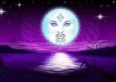 Moon God Maori Legends NZ