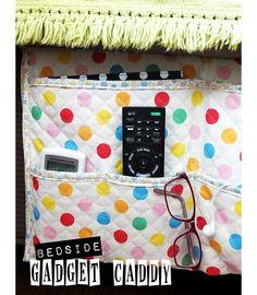 Tutorial: Bedside Gadget Caddy