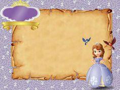 Barbie Birthday Invitations, Princess Party, Disney Princess, Princesa Sophia, Sofia Party, Sofia The First, Minnie, 1st Birthday Parties, Envelopes