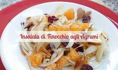 - Insalata agrumata ideale per l'inverno, fresca e veloce da eseguire! - A fresh salad perfect for winter times! Simple ingredients as fennel, tangerine, orange...delicious!