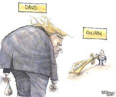 Matt Davies Editorial Cartoon, February 26, 2016     on GoComics.com