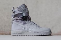 new concept ec437 91ff3 Coming Soon Nike Special Field Air Force 1 Triple Grey