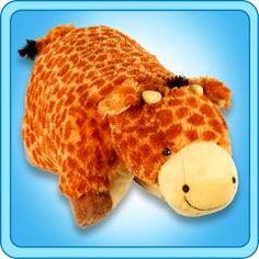Jolly Giraffe Pillow Pet®